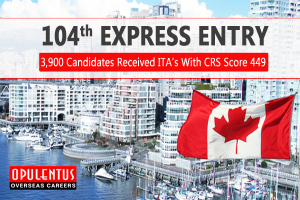 104th Canada Express Entry Draw Results
