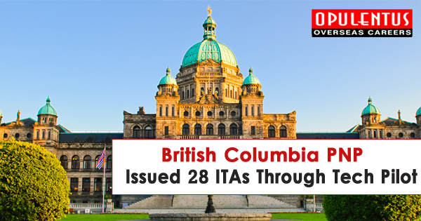 British Columbia PNP Issued 28 ITAs Through Tech Pilot