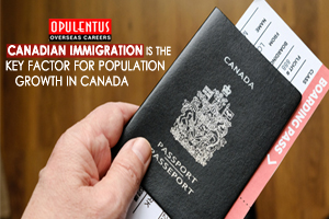 Canadian Immigration is the Key Factor for Population Growth in Canada