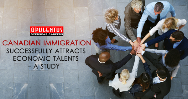 Canadian Immigration Successfully Attracts Economic Talents - A study