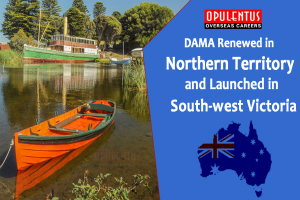 DAMA Renewed in Northern Territory and Launched in South-West Victoria