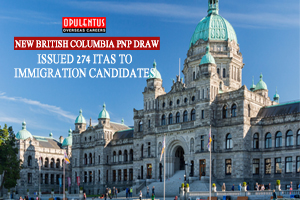 New British Columbia PNP Draw Issued 274 ITAs to Immigration Candidates