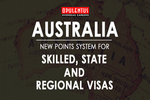 Australia: New Points System for Skilled, State and Regional Visas