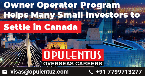Owner Operator Program Helps Many Small Investors to Settle in Canada