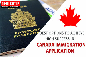 Best Options to Achieve High Success in Canada Immigration Application